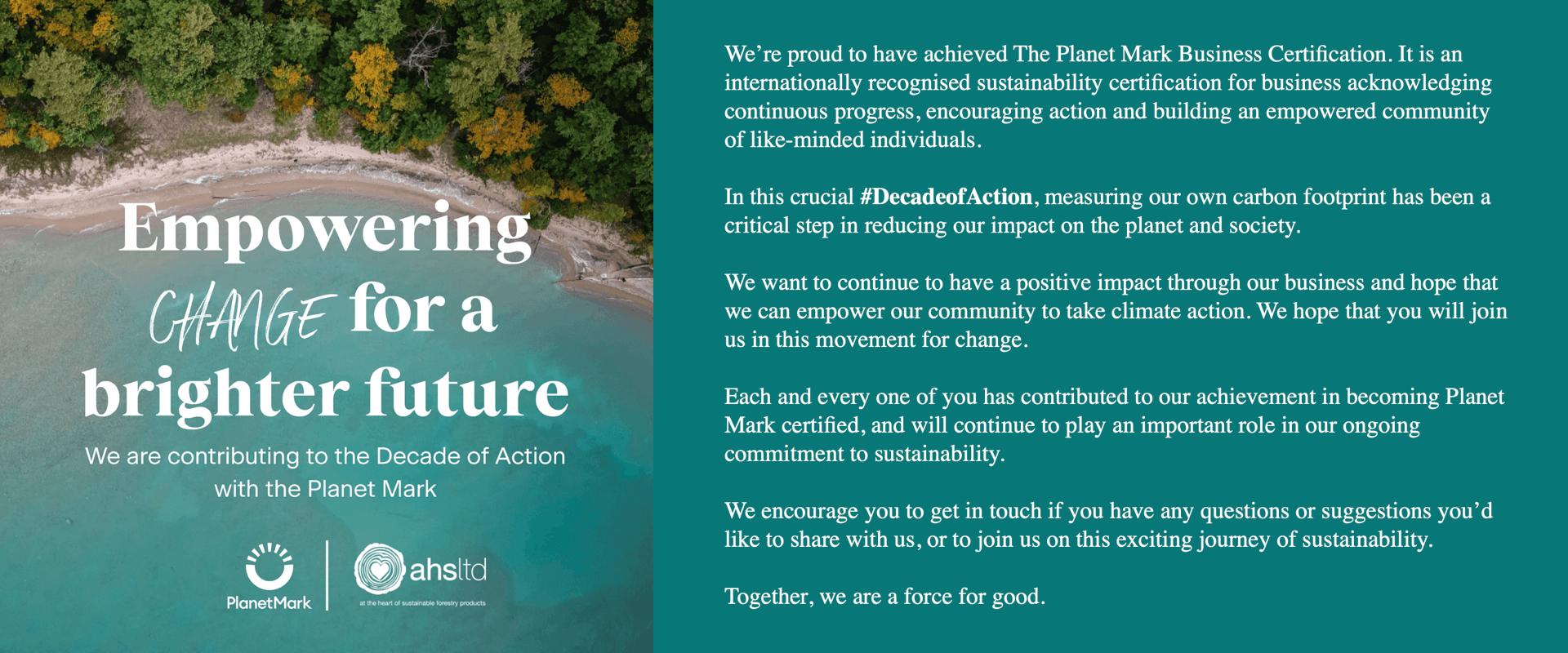 PlanetMark_Empowering Change